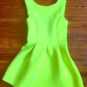 Neon festival dress